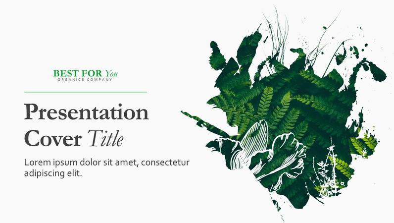 Organic presentation