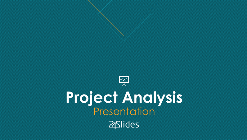 Project analysis, from 24Slides