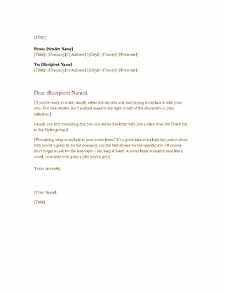 Sample Professional Business Letter from binaries.templates.cdn.office.net