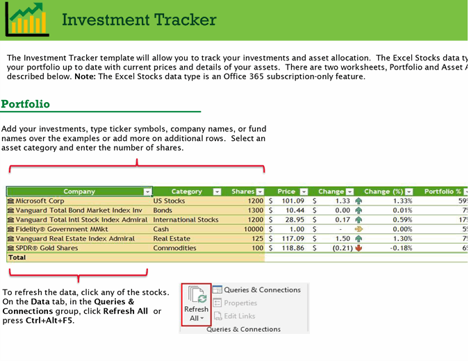 Investment tracker