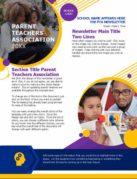PTA newsletter