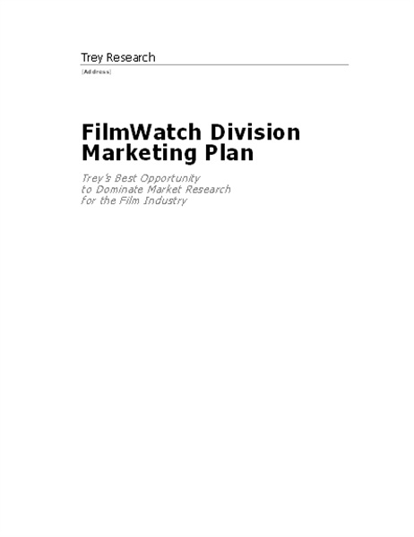 Business report (Contemporary design)