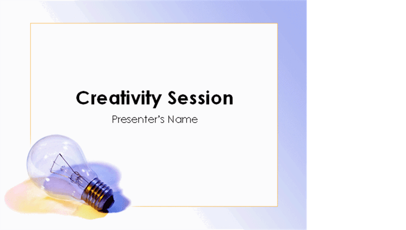 Brainstorming presentation