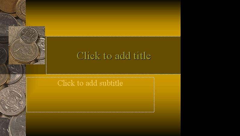 Coins design slides