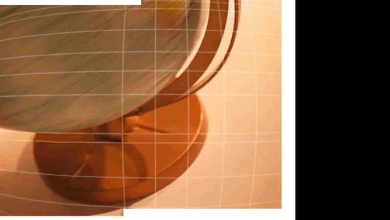 Spinning globe design slides