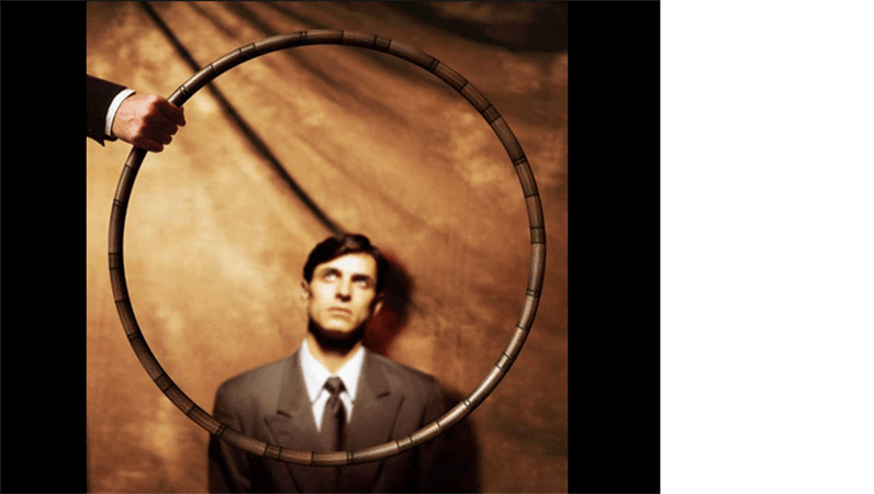 Jump through this hoop image slide