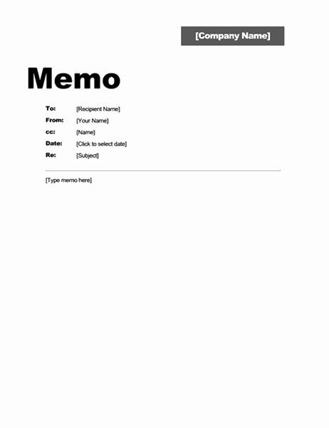 Interoffice Memo (Professional design)