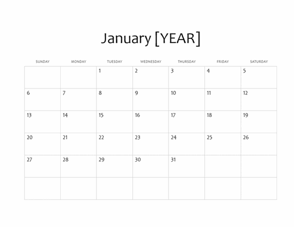 Calendar Free Template from binaries.templates.cdn.office.net