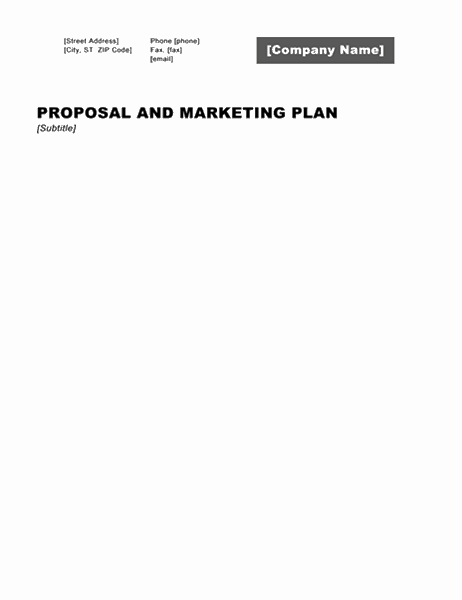 Business report (Professional design)