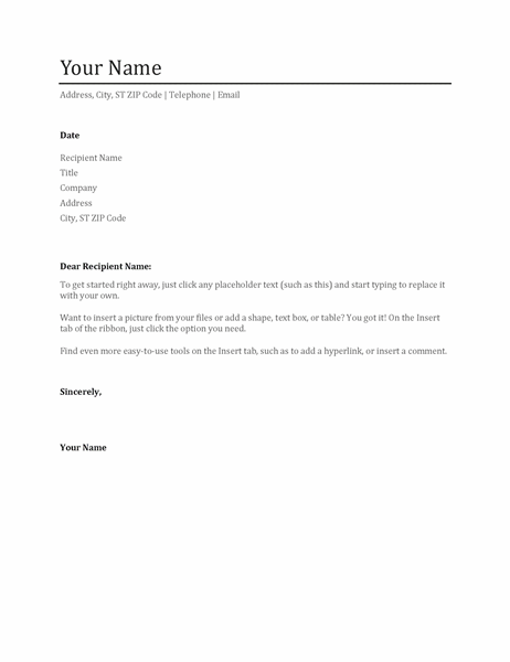 Cover Letter Header Example from binaries.templates.cdn.office.net