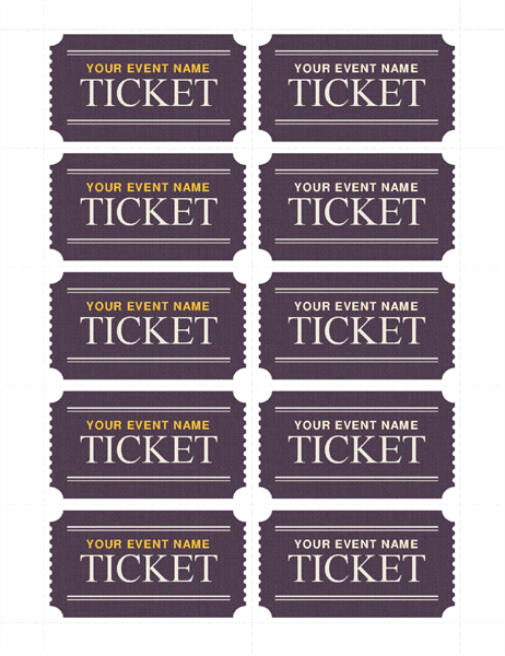 Basic tickets (10 per page)