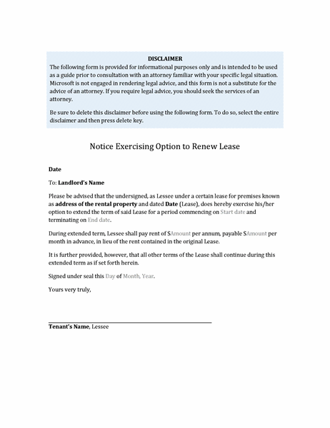 Lease Renewal Letter To Tenant from binaries.templates.cdn.office.net