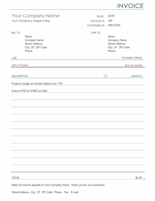 Template Invoice from binaries.templates.cdn.office.net