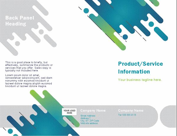 Brochure (Capsules design)