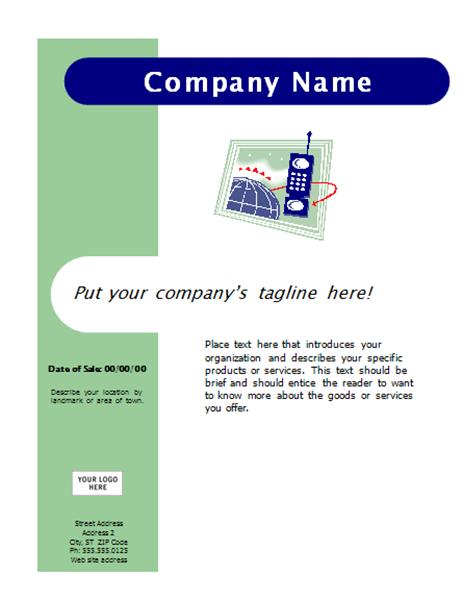 Flyer (Capsules design)