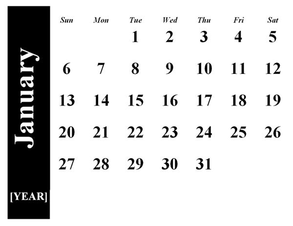 Calendar wizard