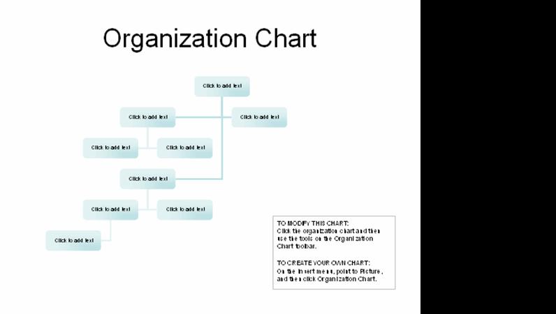 Complex organizational chart