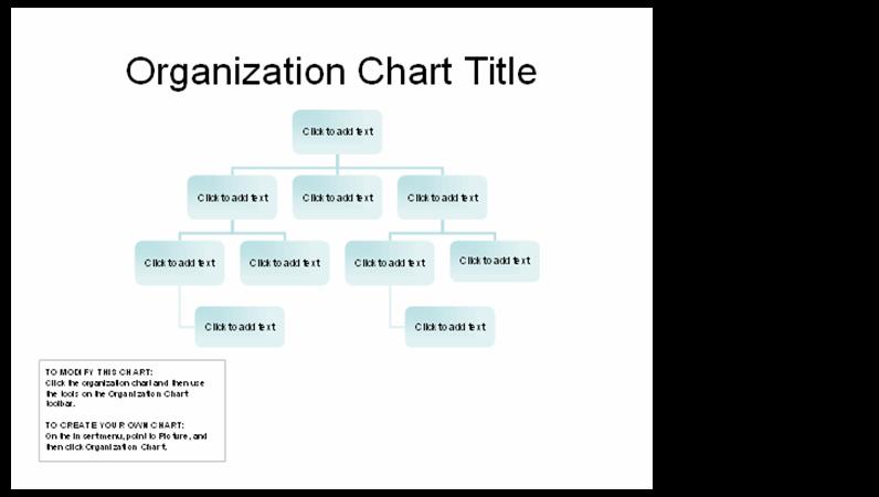 Organizational chart (basic layout)