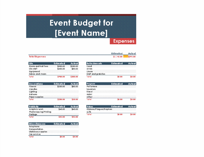 Event Budget Spreadsheet Template from binaries.templates.cdn.office.net