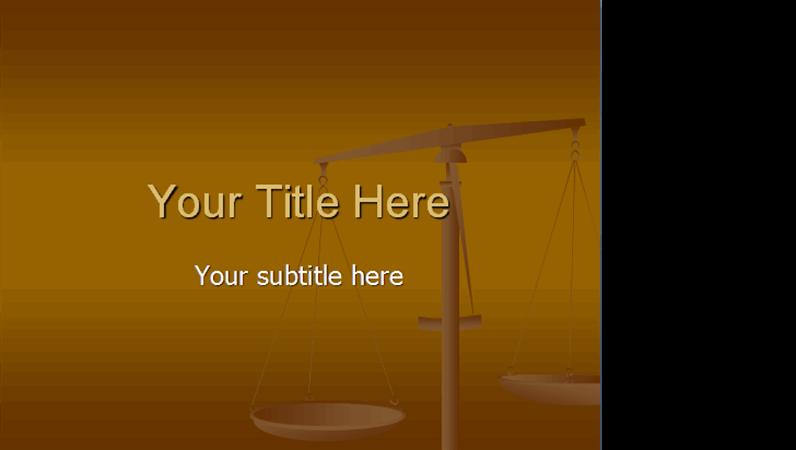 Balance design slides