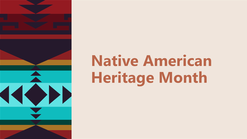 Native American Heritage Month presentation