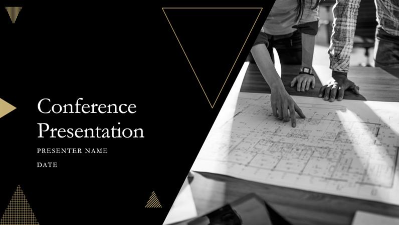 Geometric conference presentation