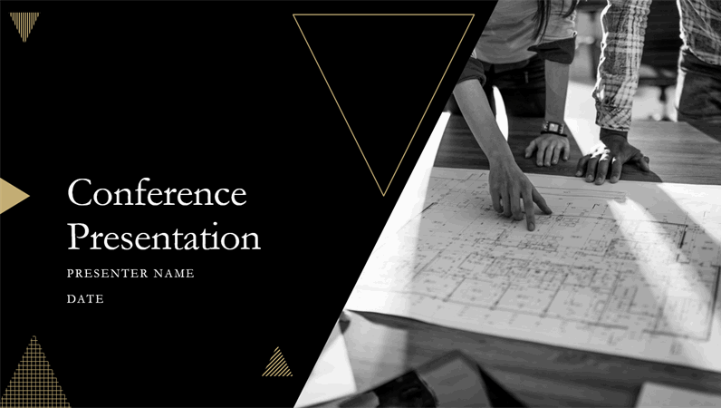 Geometric conference presentation