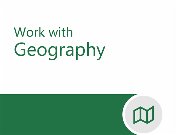 Geography tutorial