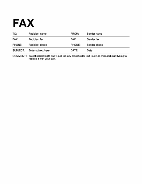 Fax Cover Page Template from binaries.templates.cdn.office.net