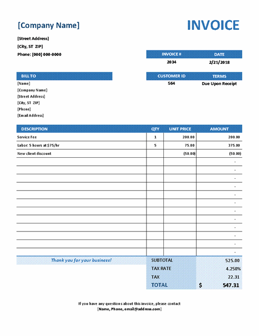 Invoice Form Template from binaries.templates.cdn.office.net