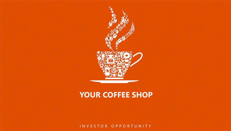 Coffee Shop Business Pitch Deck