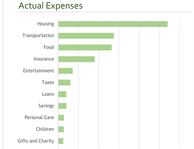 Family budget (monthly)