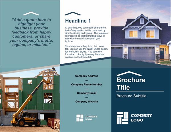 Builder brochure