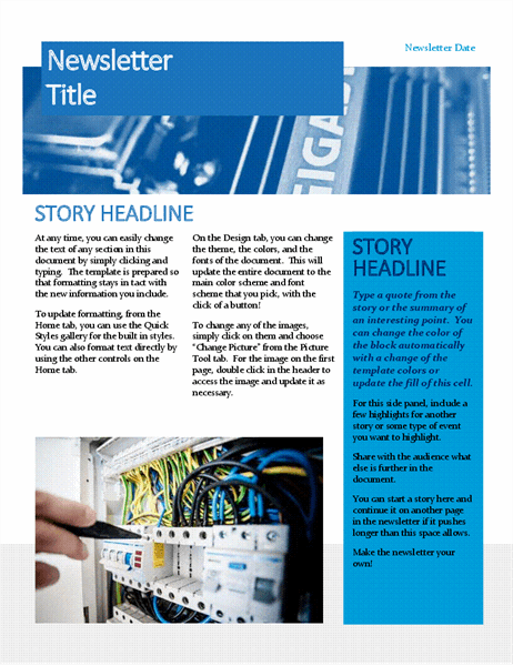 Hardware newsletter