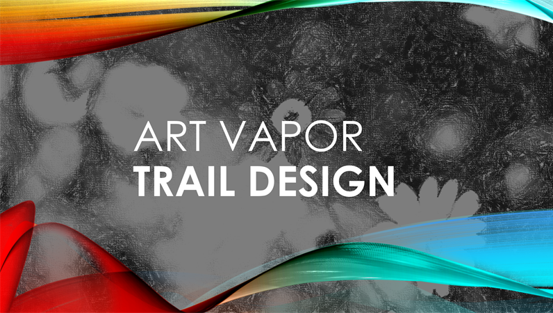 Art Vapor Trail design