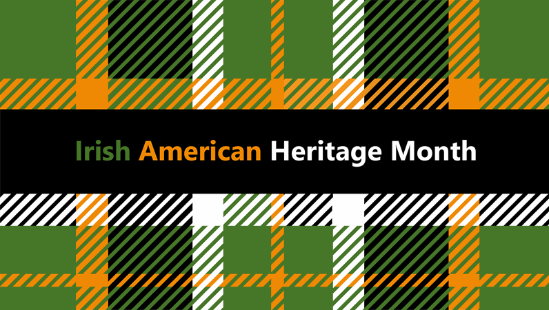Irish American Heritage Month presentation