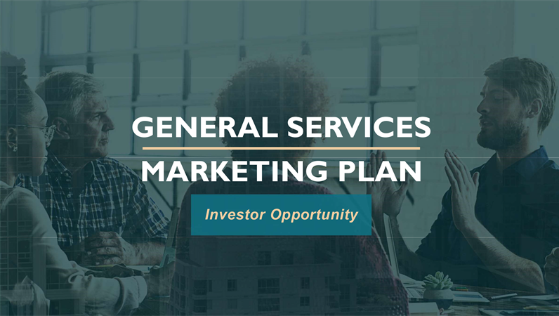 Professional services marketing plan