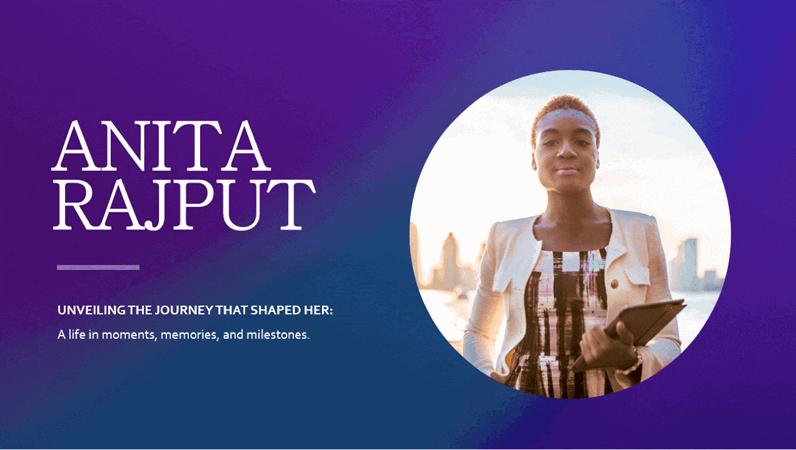 Biography presentation