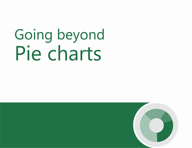 Beyond pie charts tutorial