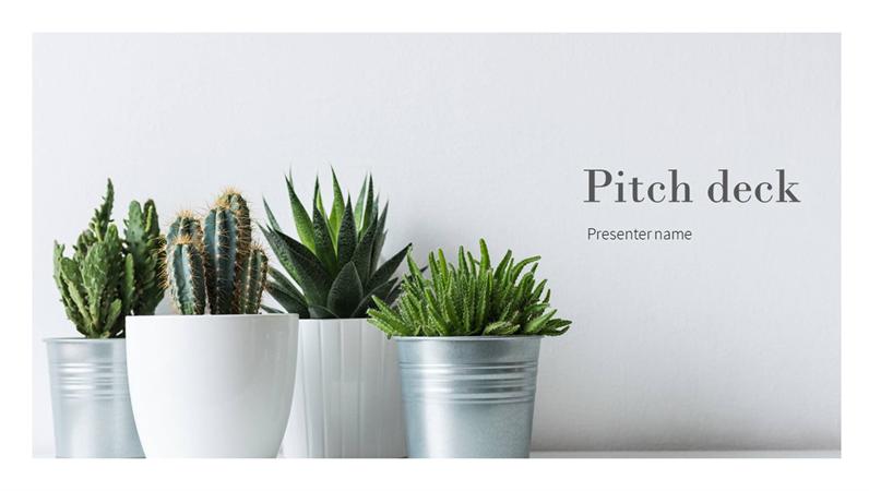 Light sales pitch presentation
