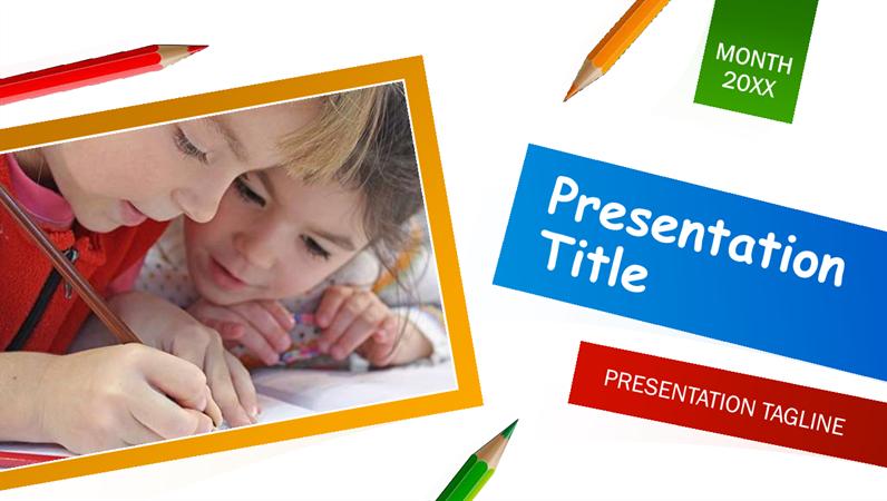 Elementary school presentation