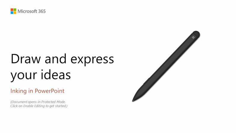 PowerPoint Surface Pen tutorial