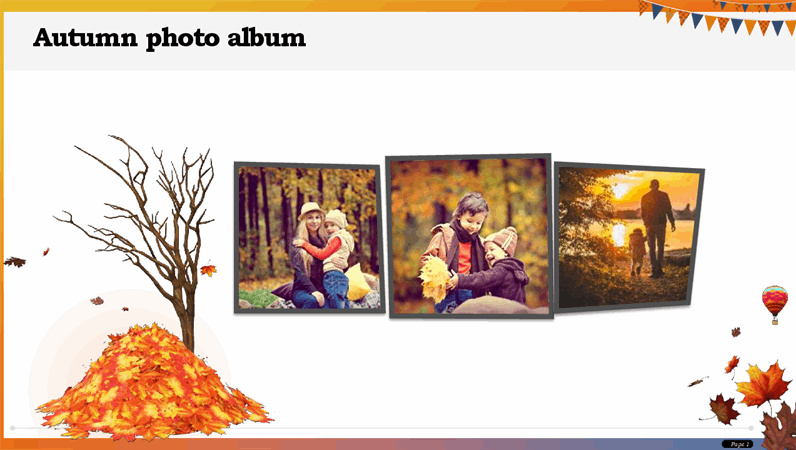 Autumn photo album