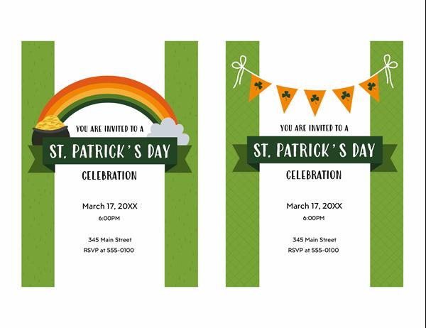 St. Patrick's Day invitation