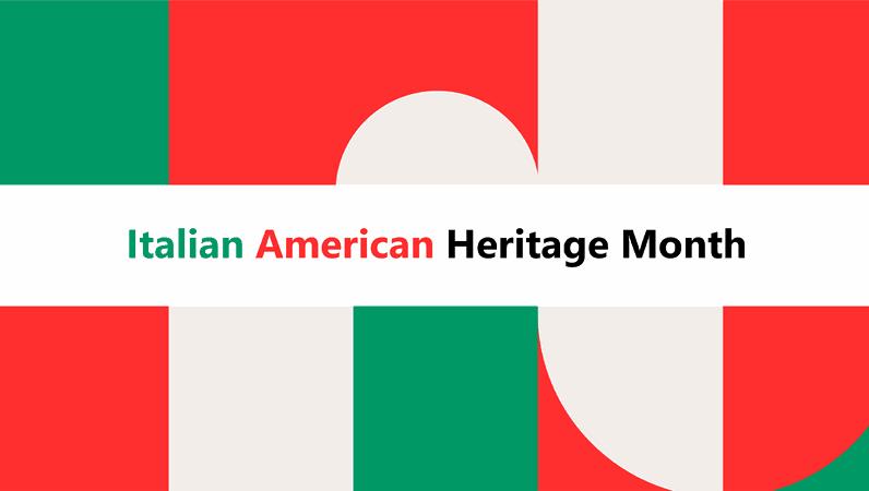 Italian American Heritage Month presentation