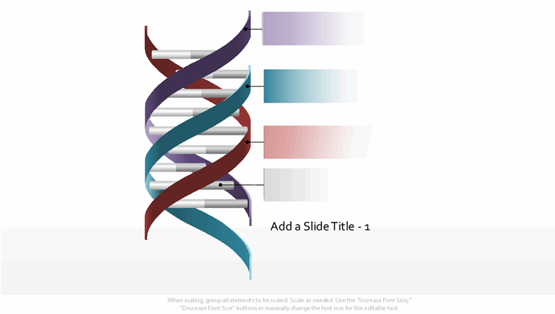 Triple helix DNA graphic
