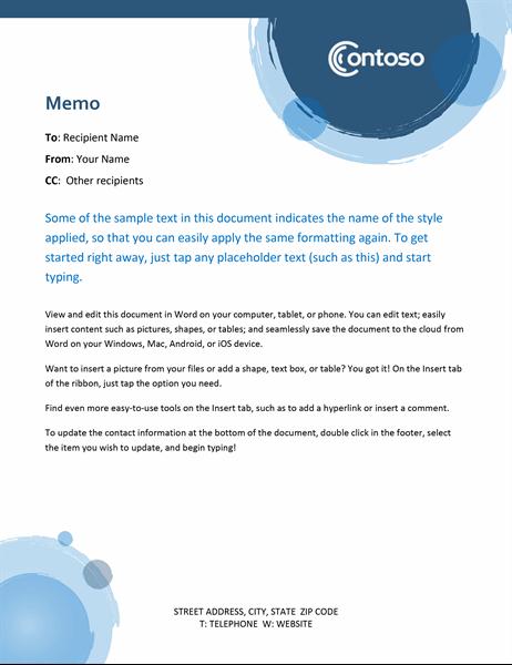 Blue spheres memo