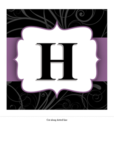 Anniversary banner (Purple Ribbon design)
