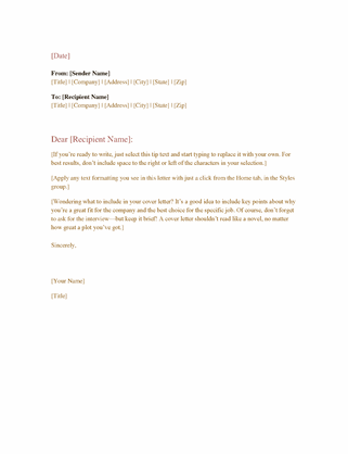 Microsoft Word Business Letter Templates from binaries.templates.cdn.office.net