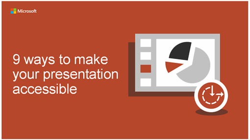 9 ways to make your presentation accessible